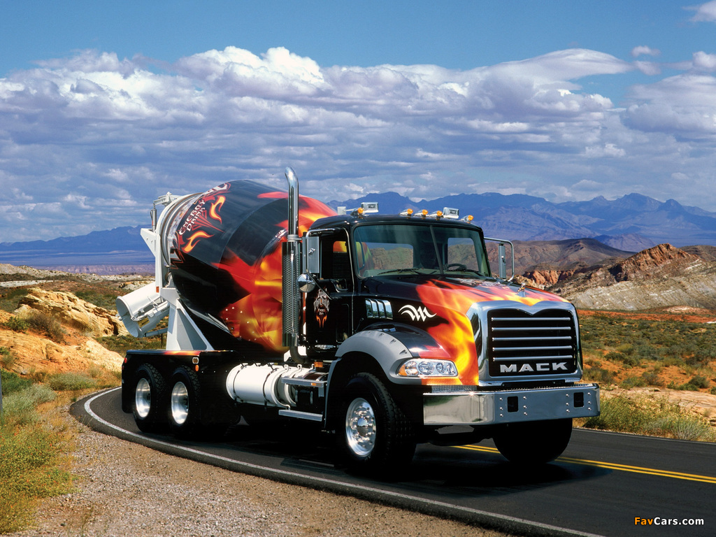 Photos of Mack Granite Mixer 2002 (1024 x 768)