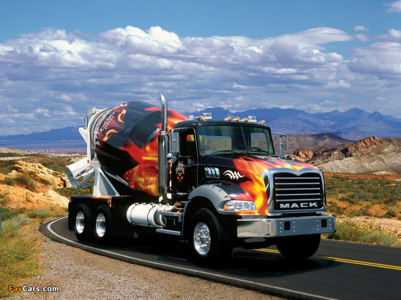 Photos of Mack Granite Mixer 2002 (800 x 600)