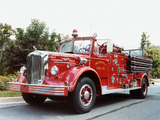 Photos of Mack L-85 Firetruck 1954
