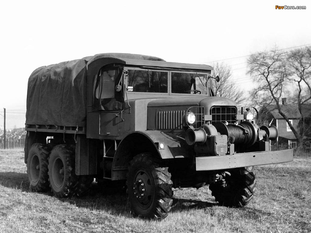 Photos of Mack NO-1 7 ½-ton 6x6 1940 (1024 x 768)