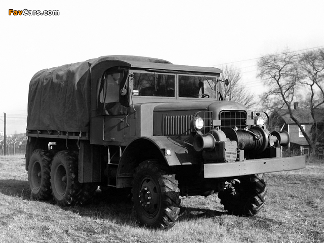 Photos of Mack NO-1 7 ½-ton 6x6 1940 (640 x 480)