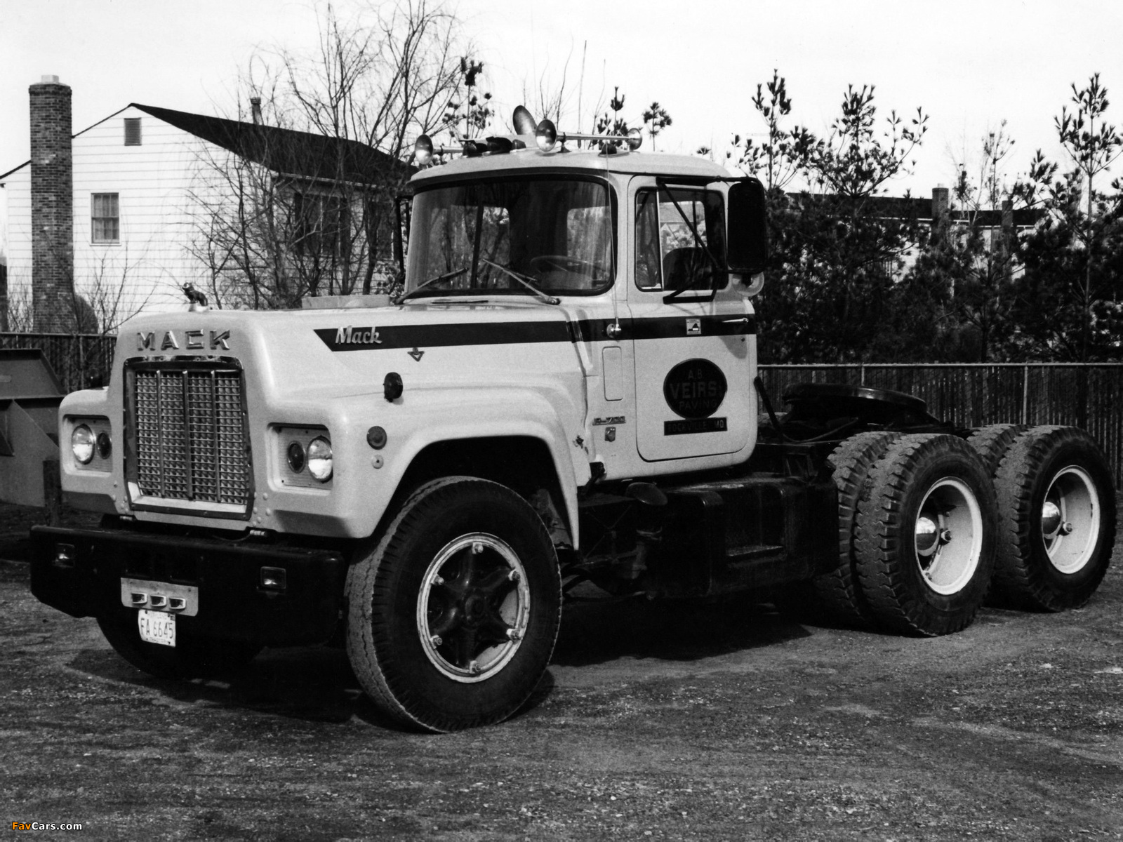 Pictures of Mack R700 1965–90 (1600 x 1200)