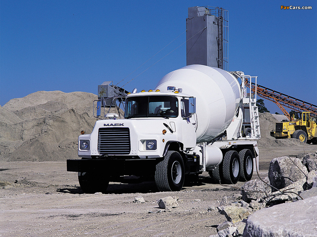 Pictures of Mack RD600 Mixer 1990–2004 (1024 x 768)