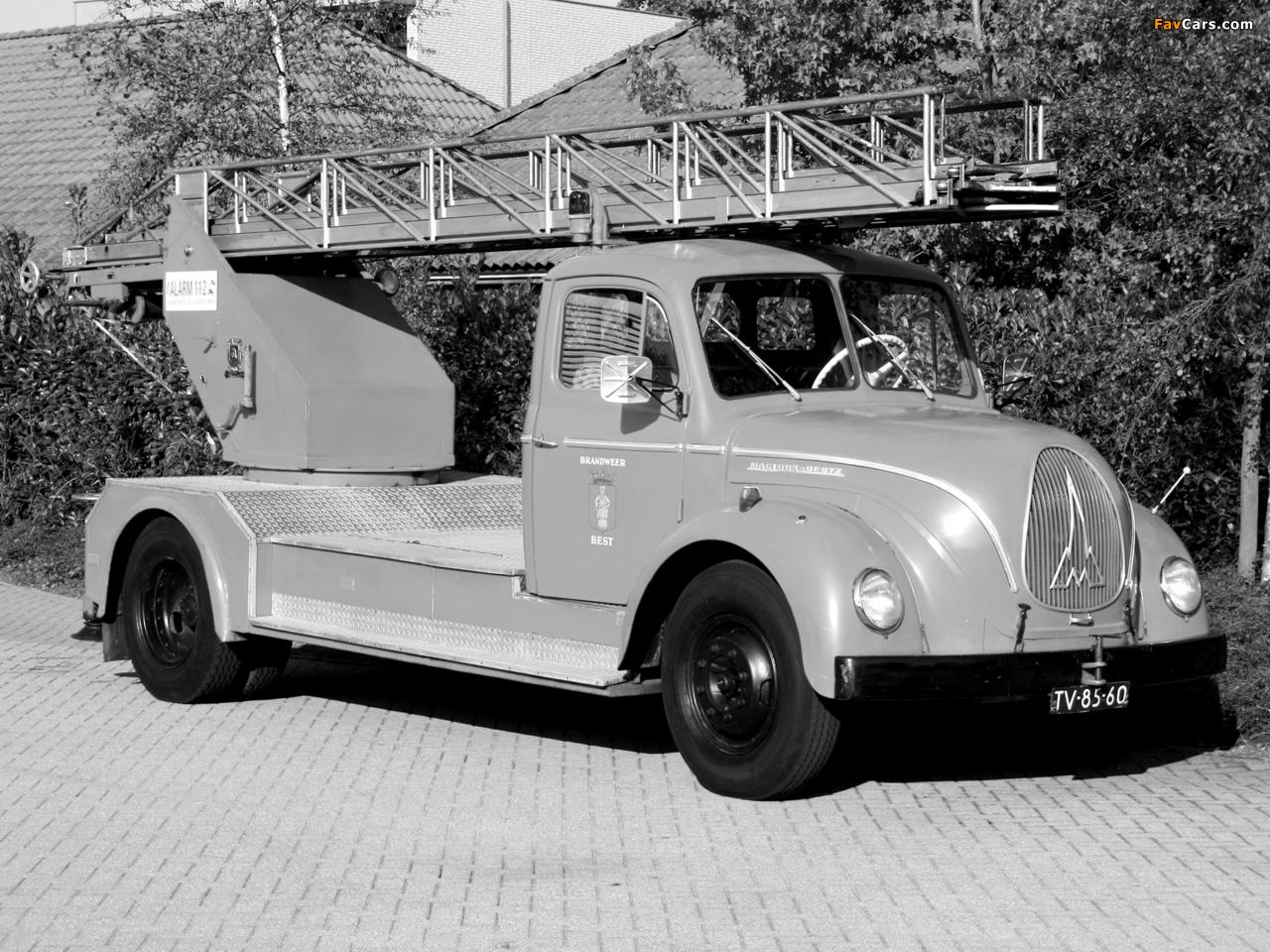 Magirus-Deutz F125 Mercur 1951–57 images (1280 x 960)
