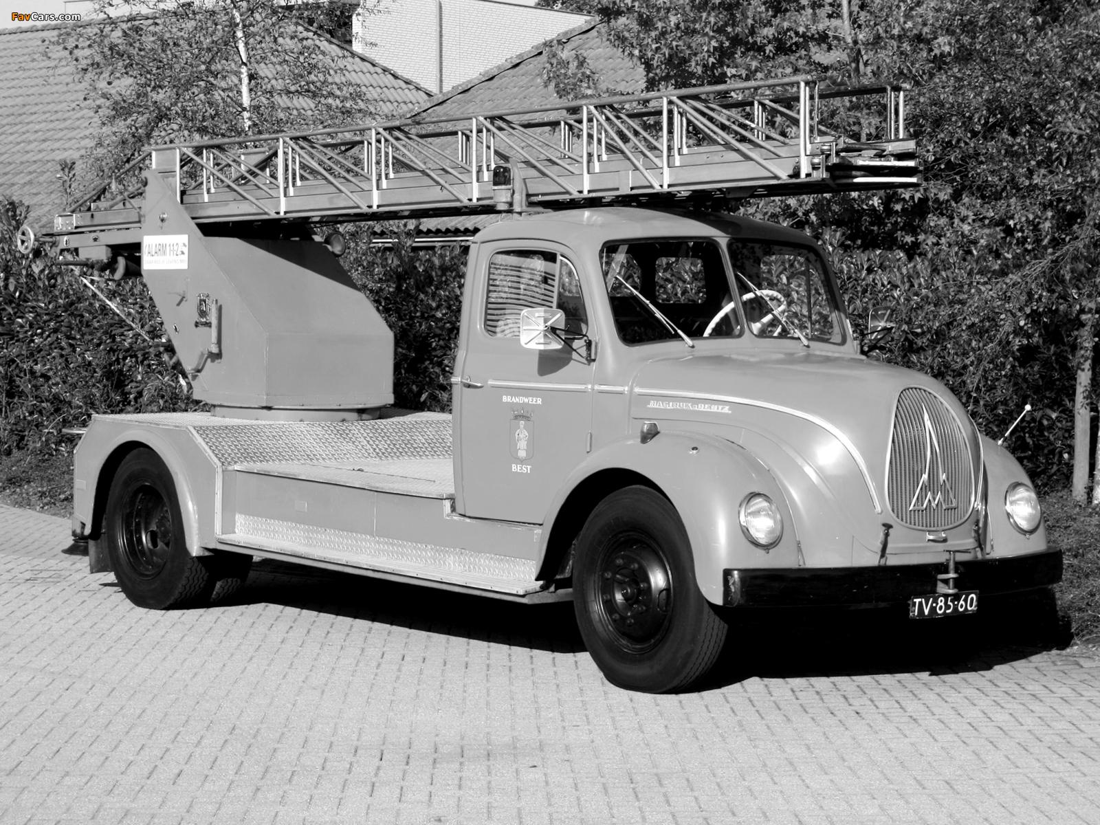 Magirus-Deutz F125 Mercur 1951–57 images (1600 x 1200)
