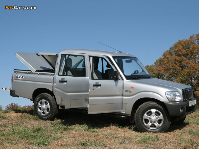 Images of Mahindra Pik Up Double Cab 2007–09 (640 x 480)