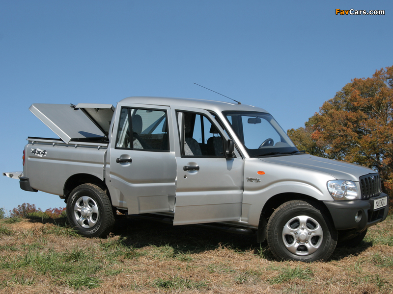 Images of Mahindra Pik Up Double Cab 2007–09 (800 x 600)