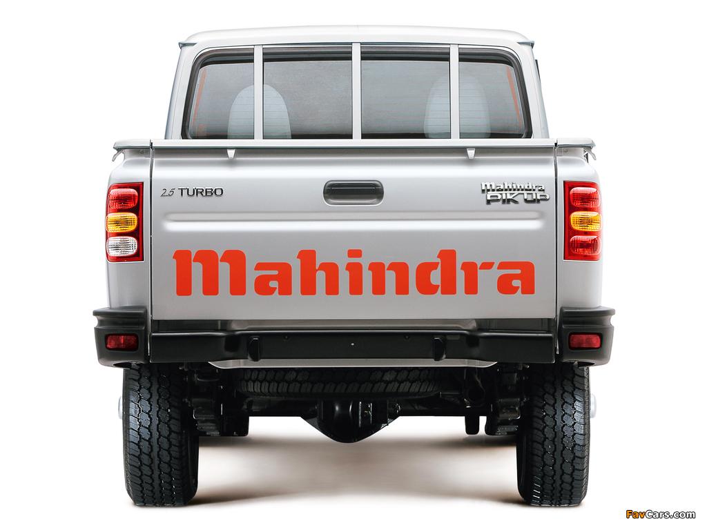 Mahindra Pik Up Single Cab 2007–09 wallpapers (1024 x 768)
