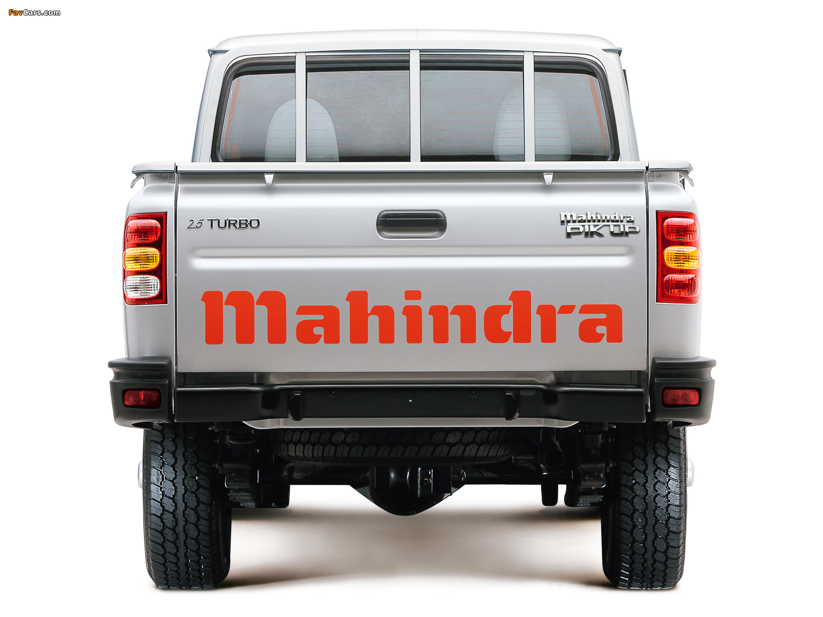 Mahindra Pik Up Single Cab 2007–09 wallpapers (1600 x 1200)