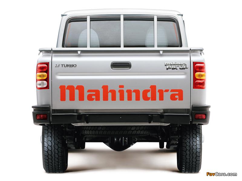 Mahindra Pik Up Single Cab 2007–09 wallpapers (800 x 600)