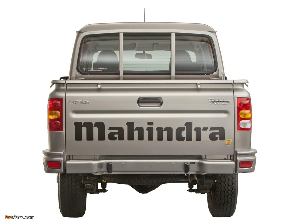 Mahindra Pik Up Double Cab 2009 wallpapers (1024 x 768)