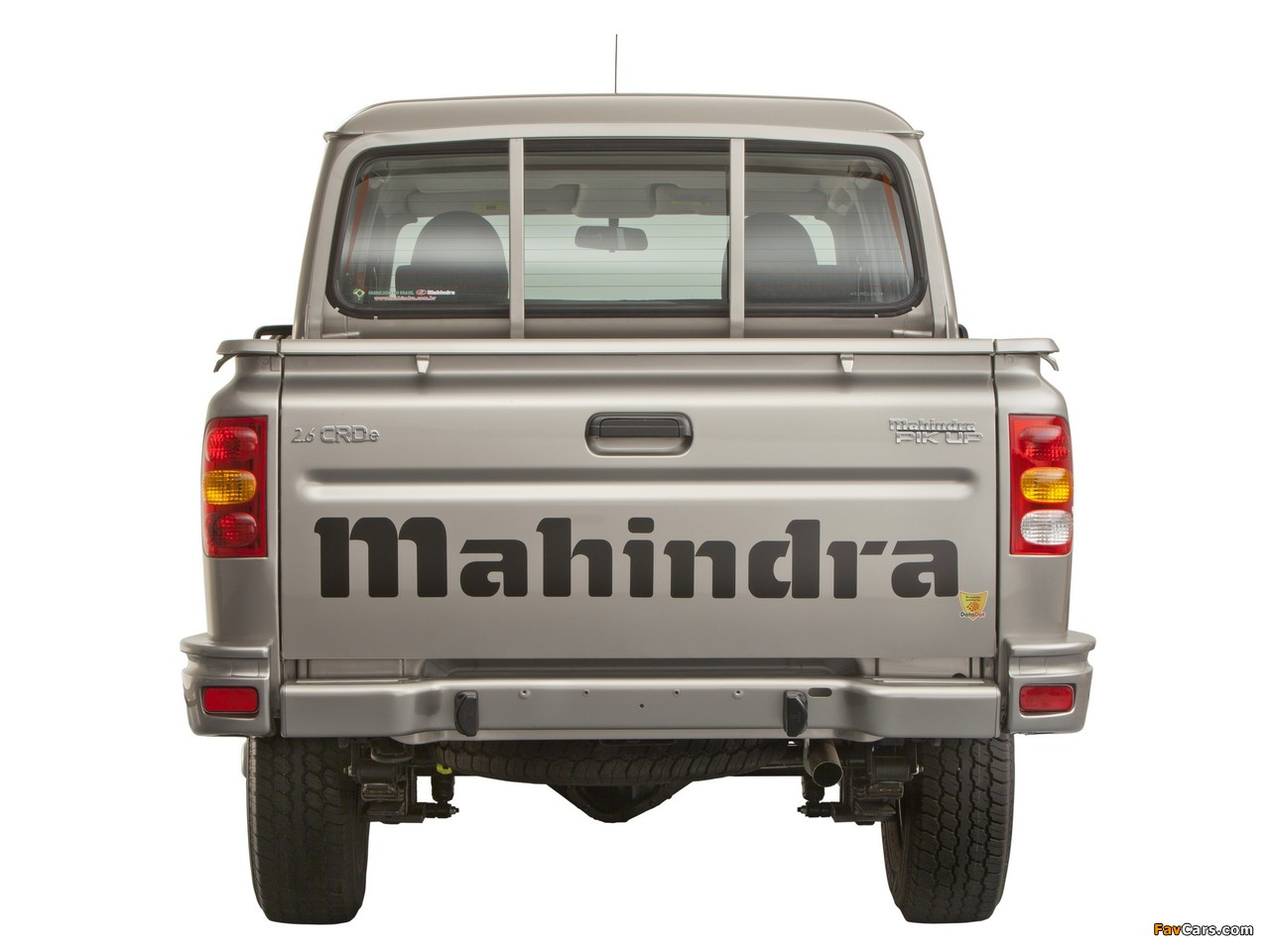 Mahindra Pik Up Double Cab 2009 wallpapers (1280 x 960)