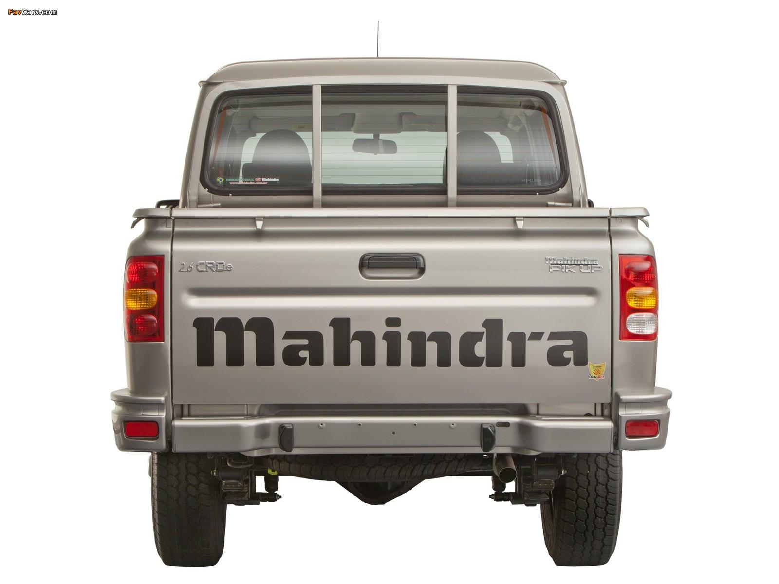Mahindra Pik Up Double Cab 2009 wallpapers (1600 x 1200)