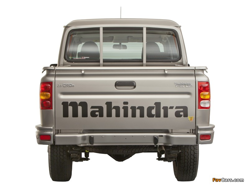 Mahindra Pik Up Double Cab 2009 wallpapers (800 x 600)