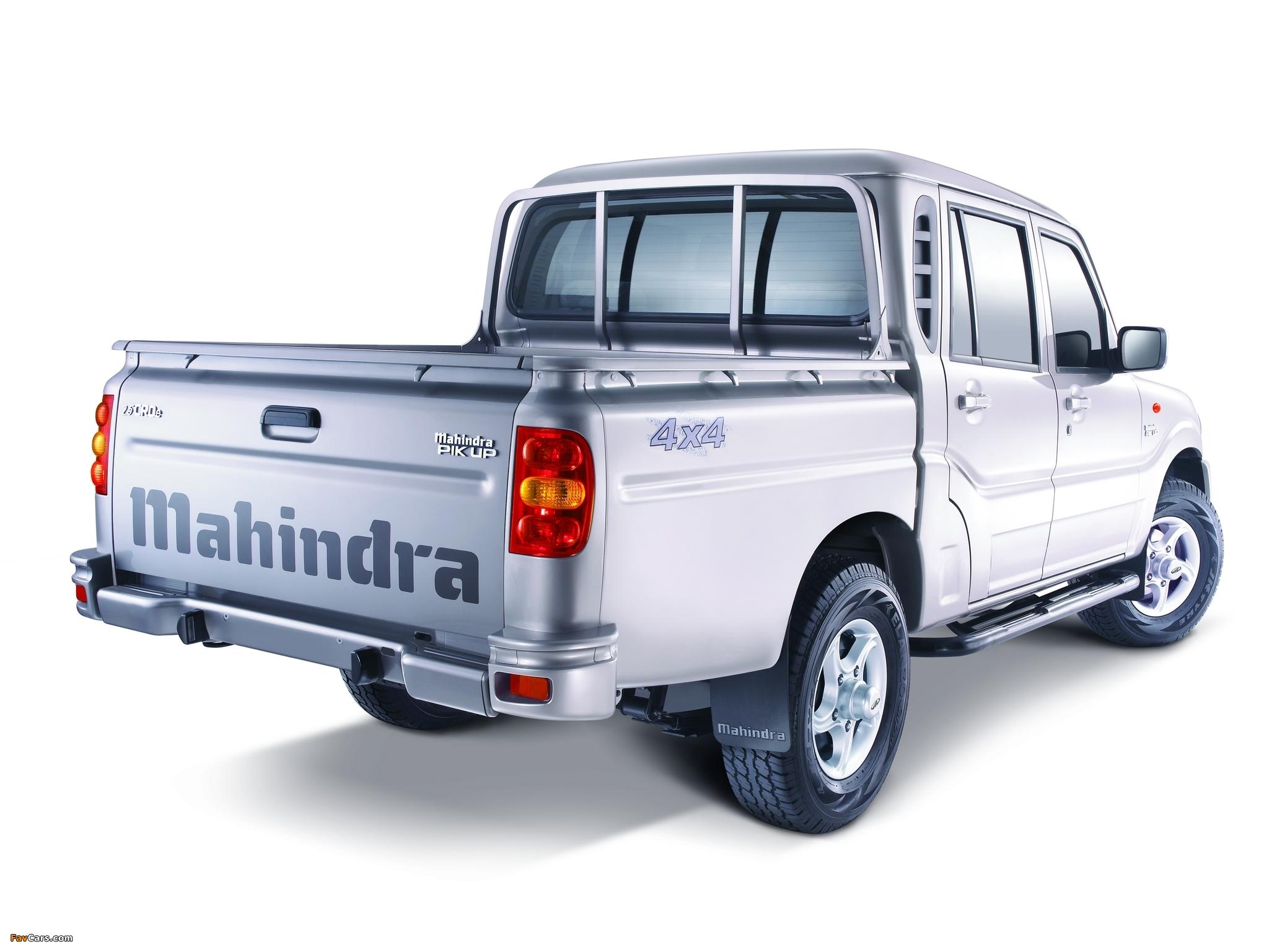 Photos of Mahindra Pik Up Double Cab 2009 (2048 x 1536)