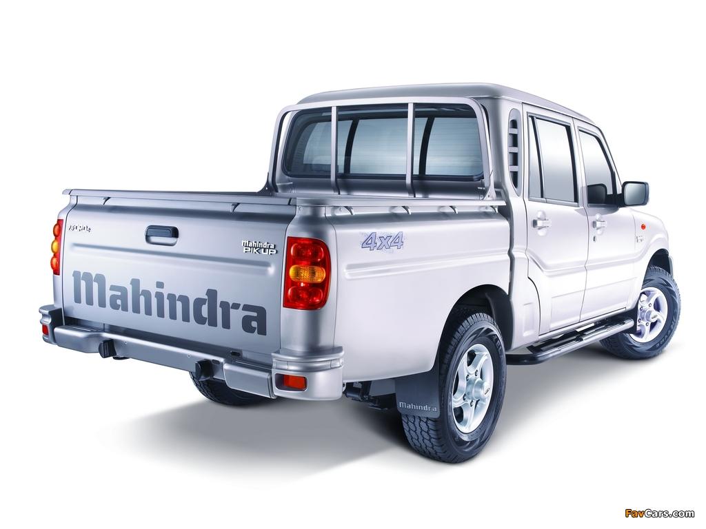 Photos of Mahindra Pik Up Double Cab 2009 (1024 x 768)