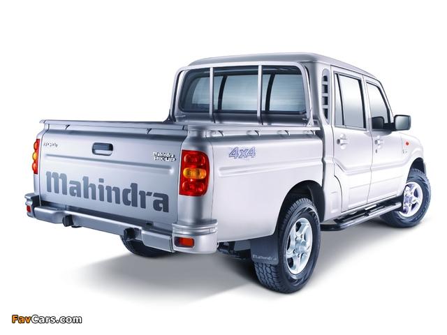 Photos of Mahindra Pik Up Double Cab 2009 (640 x 480)
