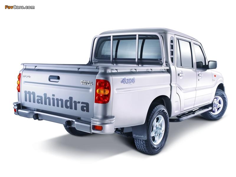 Photos of Mahindra Pik Up Double Cab 2009 (800 x 600)