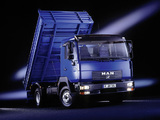 Images of MAN LE2000 8.174 Tipper 2000–06