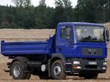 MAN TGM 18.280 FLK Meiller-Kipper 2005–08 pictures