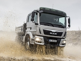 MAN TGM 18.340 FAK Crew Cab Meiller-Kipper 2012 wallpapers