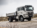 Photos of MAN TGM 18.340 FAK Crew Cab Meiller-Kipper 2012