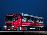 MAN TGX 18.540 Weihnachtstruck 2007–12 wallpapers