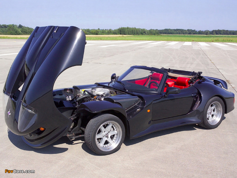 Marcos LM500 Spyder 1997–99 pictures (800 x 600)