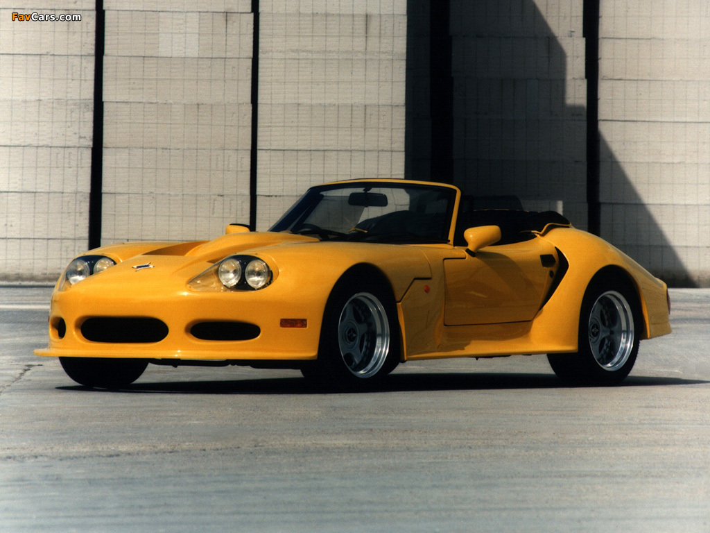 Marcos LM500 Spyder 1997–99 wallpapers (1024 x 768)