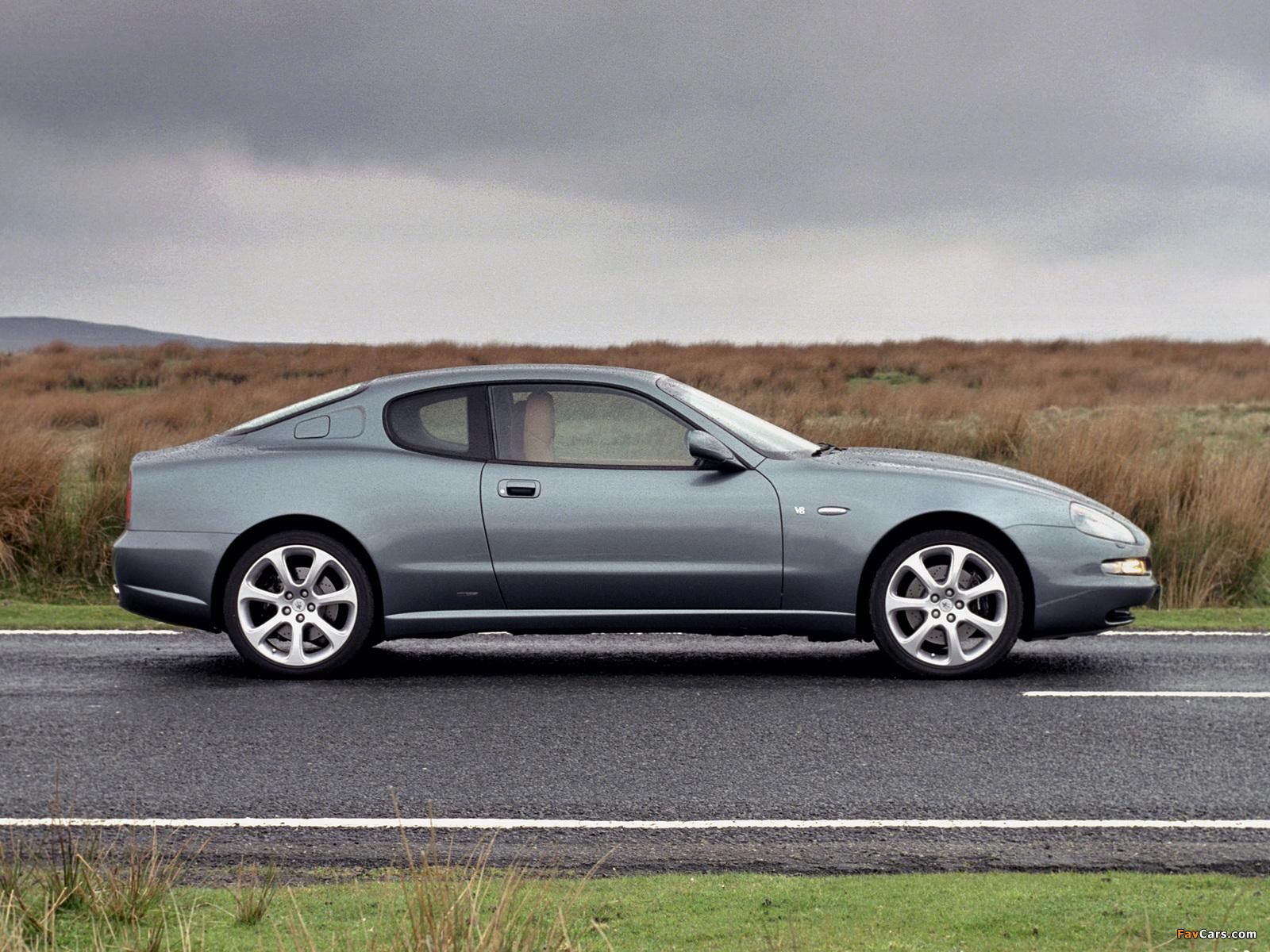 Images of Maserati Coupe UK-spec 2002–07 (1600 x 1200)