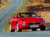 Maserati Spyder UK-spec 2002–04 images