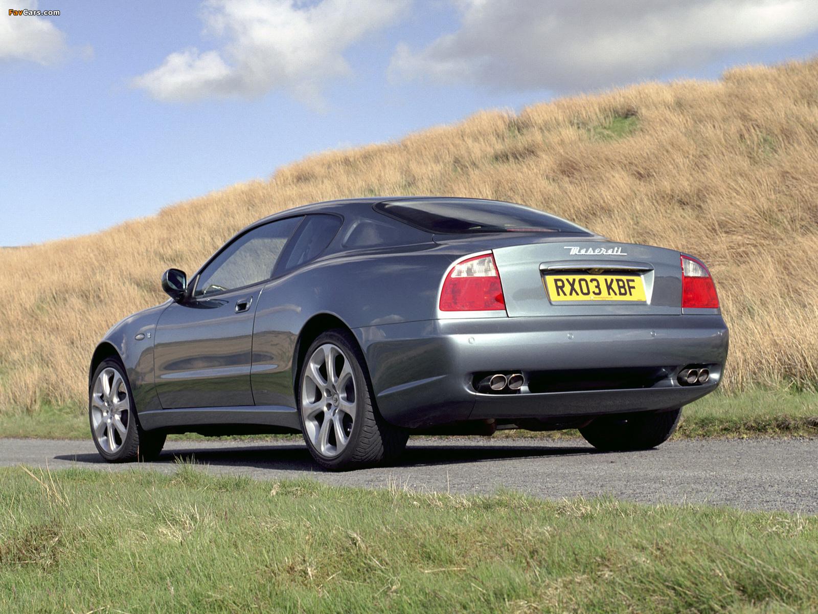 Maserati Coupe UK-spec 2002–07 photos (1600 x 1200)