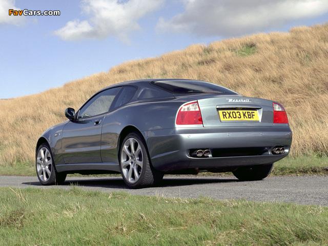Maserati Coupe UK-spec 2002–07 photos (640 x 480)