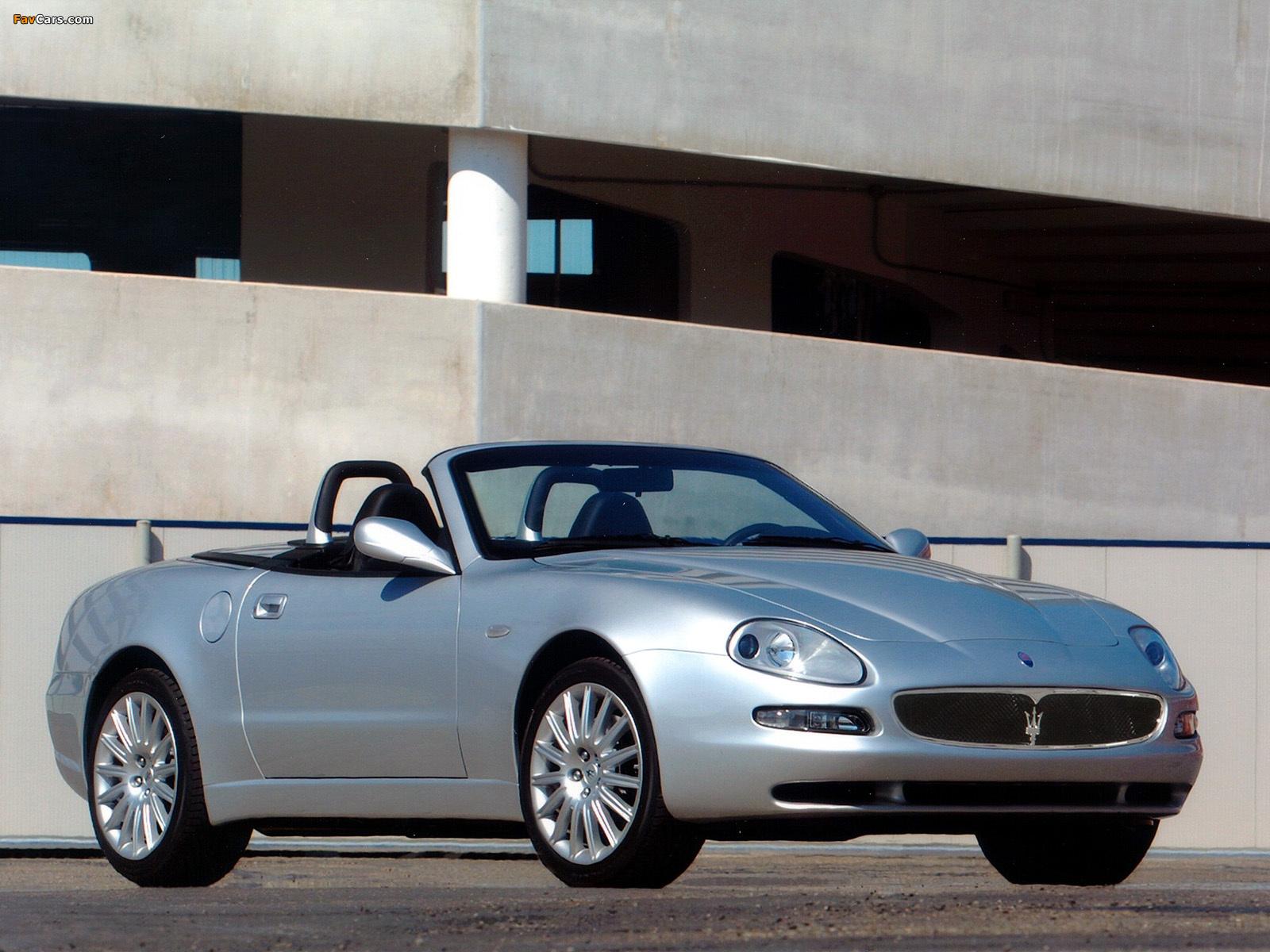 Maserati Spyder 2001-07 images (1600x1200)