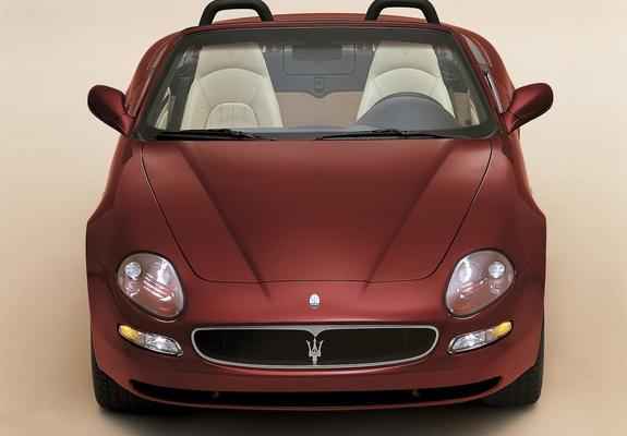 Photos of Maserati Spyder 2001-07