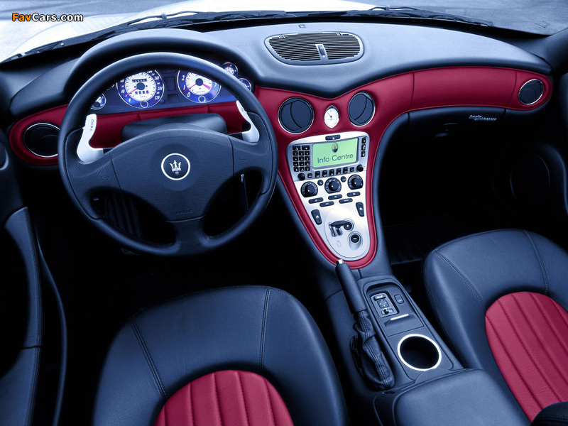 Photos of Maserati Spyder 2001–07 (800 x 600)