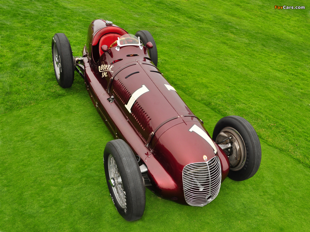 Maserati 8CTF Boyle Special (#3032) 1938 photos (1024 x 768)