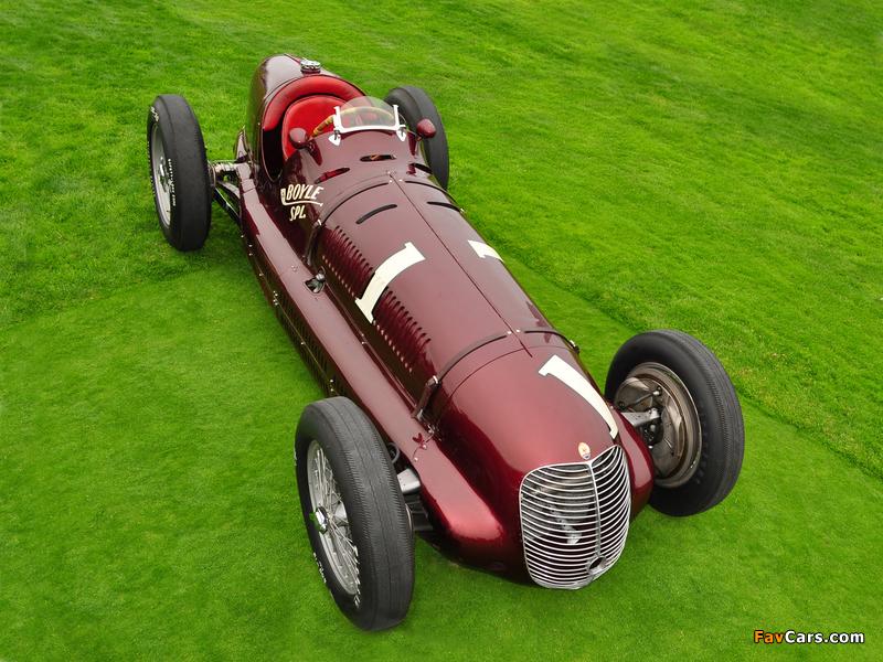 Maserati 8CTF Boyle Special (#3032) 1938 photos (800 x 600)