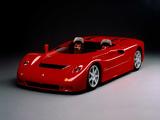 Maserati Barchetta Stradale 1992 pictures