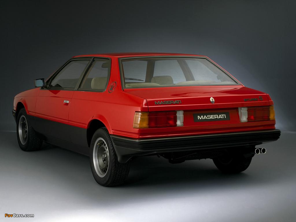 Maserati Biturbo S 1983-87 images (1024x768)