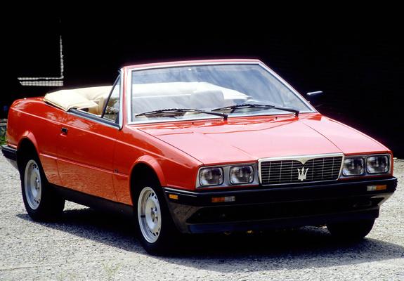Maserati Biturbo Spyder 1989-91 pictures