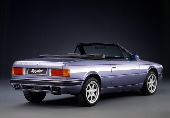 Maserati biturbo convertible