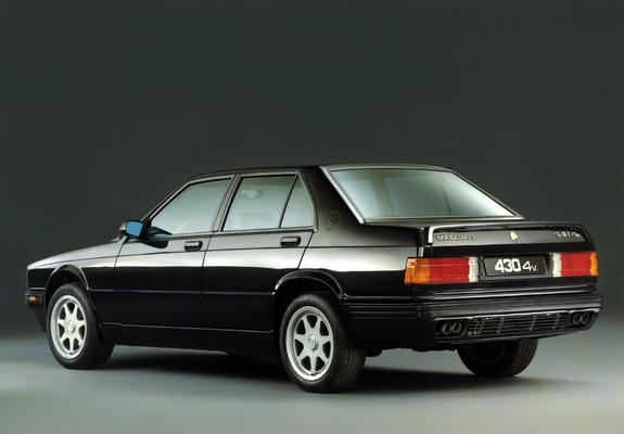 Pictures of Maserati 430 4V 1991-94
