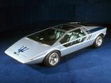 Maserati Boomerang 1972 images