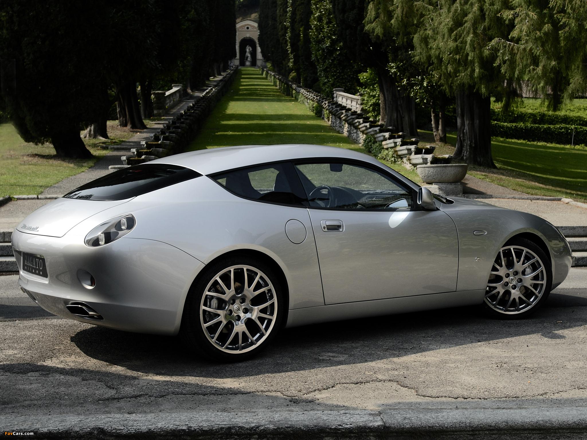 Maserati GS Zagato 2007 pictures (2048 x 1536)