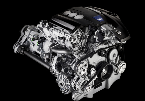 Photos of Engines Maserati 3.0 V6 Twin Turbo