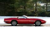 Maserati Ghibli Spyder 1969–73 wallpapers