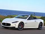 Images of Maserati GranCabrio Sport AU-spec 2011