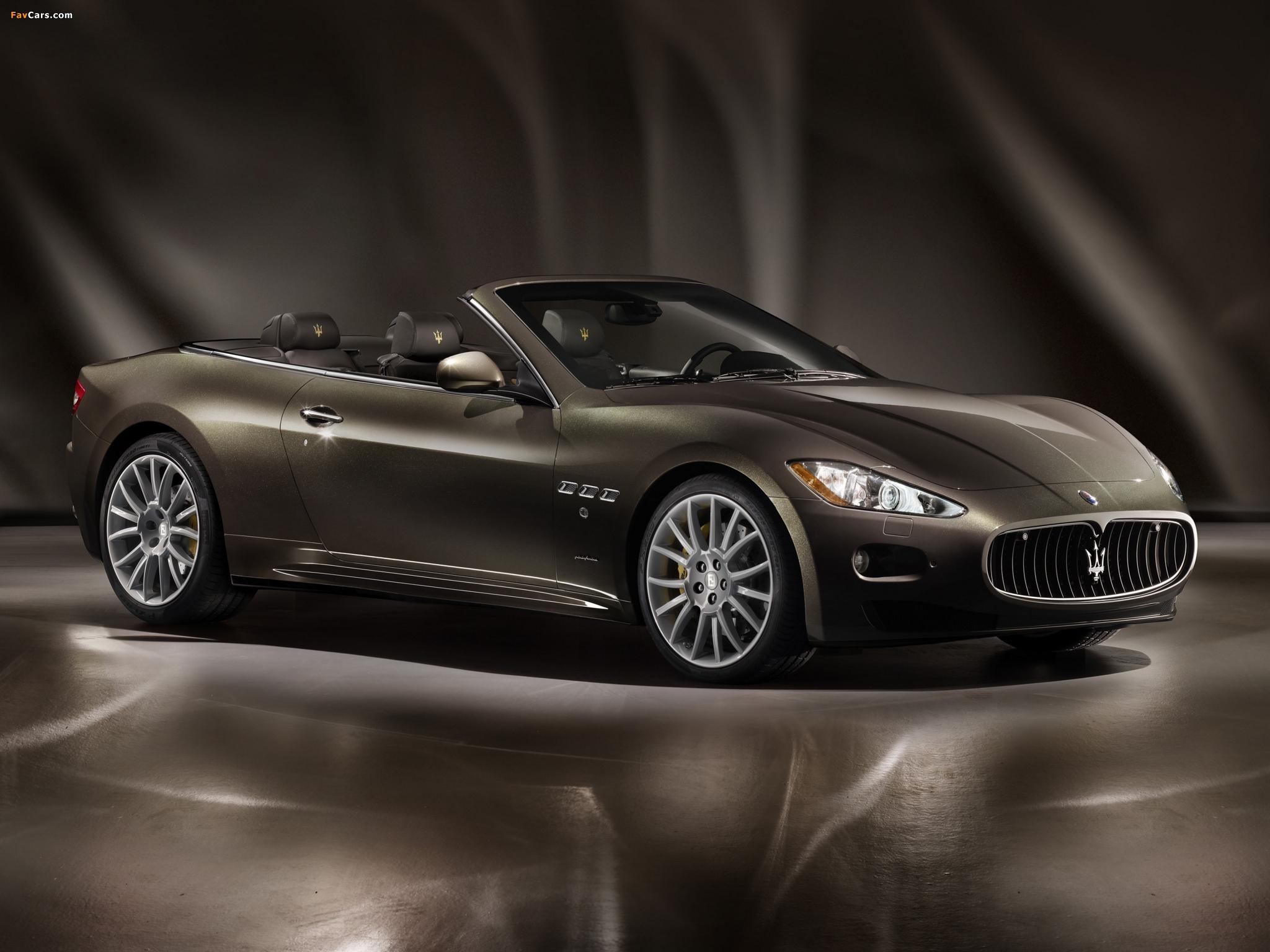 Maserati GranCabrio Fendi 2011 images (2048 x 1536)