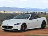 Maserati GranCabrio Sport AU-spec 2011 images
